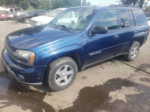 2004 Chevrolet TrailBlazer for sale at KC Cars Inc. in Portland OR