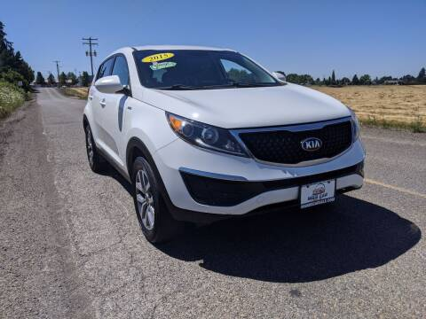 2015 Kia Sportage for sale at M AND S CAR SALES LLC in Independence OR