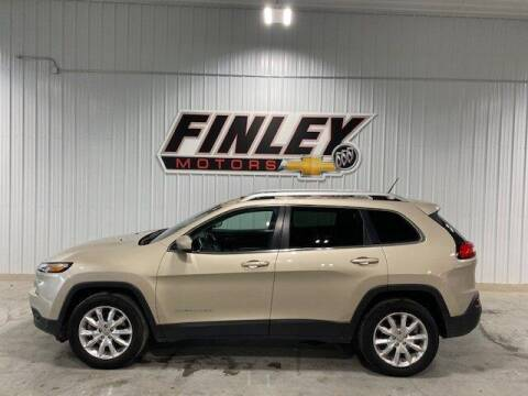 2014 Jeep Cherokee for sale at Finley Motors in Finley ND