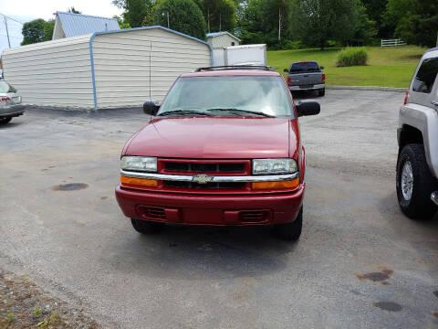 2002 Chevrolet Blazer for sale at K & P Used Cars, Inc. in Philadelphia TN