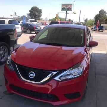 2019 Nissan Sentra for sale at Fiesta Motors Inc in Las Cruces NM