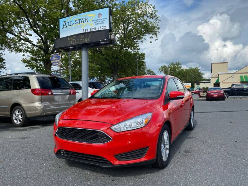 2016 Ford Focus for sale at All Star Auto Sales and Service LLC in Allentown PA