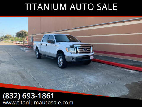 2011 Ford F-150 for sale at TITANIUM AUTO SALE in Houston TX