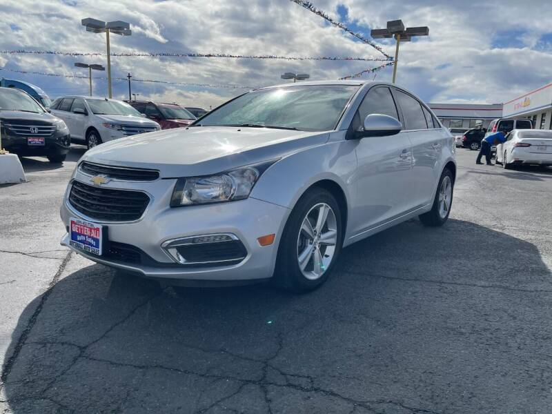2015 Chevrolet Cruze for sale at Better All Auto Sales in Yakima WA