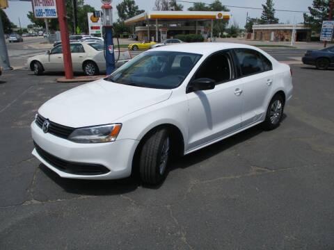 2014 Volkswagen Jetta for sale at Premier Auto in Wheat Ridge CO