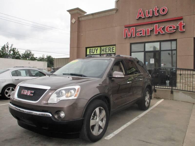 2012 GMC Acadia for sale at Auto Market in Oklahoma City OK