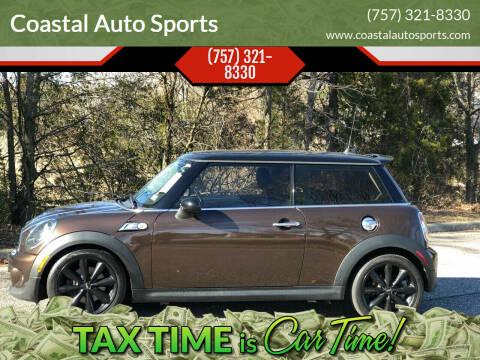 2012 MINI Cooper Hardtop for sale at Coastal Auto Sports in Chesapeake VA