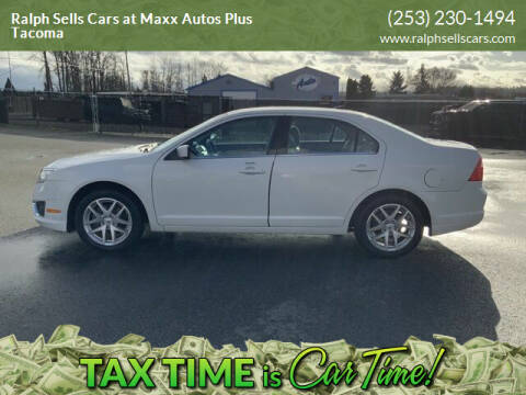 2012 Ford Fusion for sale at Ralph Sells Cars at Maxx Autos Plus Tacoma in Tacoma WA