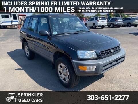 1999 Toyota RAV4 for sale at Sprinkler Used Cars in Longmont CO