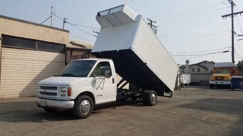 1999 Chevrolet C/K 3500 Series for sale at Vehicle Center in Rosemead CA