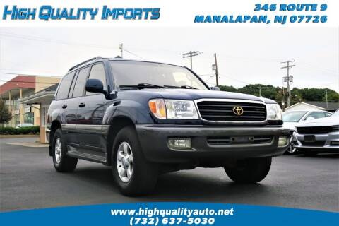 2000 Toyota Land Cruiser for sale at High Quality Imports in Manalapan NJ
