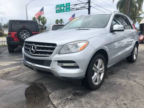2012 Mercedes-Benz ML350 for sale at Gtr Motors in Fort Lauderdale FL
