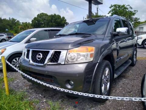 2012 Nissan Armada for sale at Sheldon Motors in Tampa FL