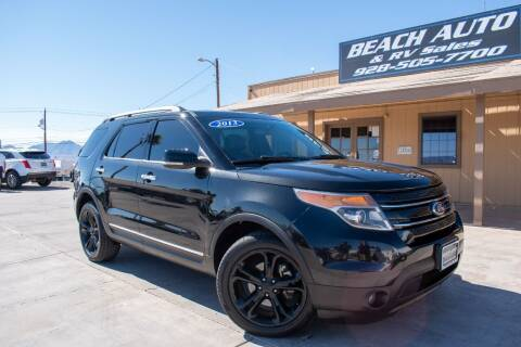 2013 Ford Explorer for sale at Beach Auto and RV Sales in Lake Havasu City AZ
