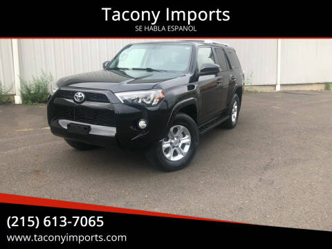 2018 Toyota 4Runner for sale at Tacony Imports in Philadelphia PA