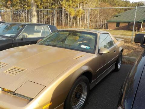 1987 Pontiac Firebird for sale at Route 65 Sales & Classics LLC - Classic Cars in Ham Lake MN