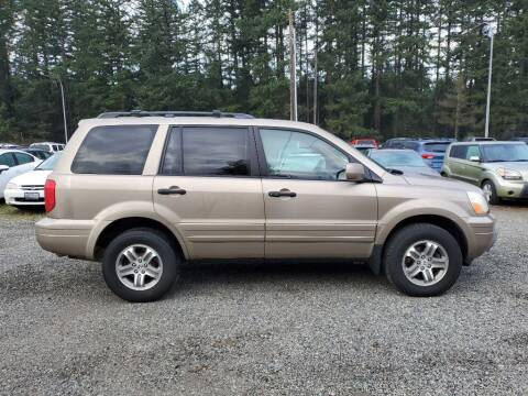 2004 Honda Pilot for sale at WILSON MOTORS in Spanaway WA