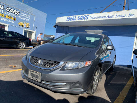 2013 Honda Civic for sale at Ideal Cars in Hamilton OH