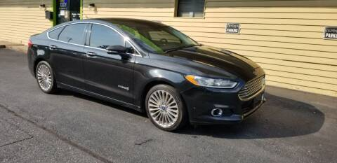 2013 Ford Fusion Hybrid for sale at Cars Trend LLC in Harrisburg PA