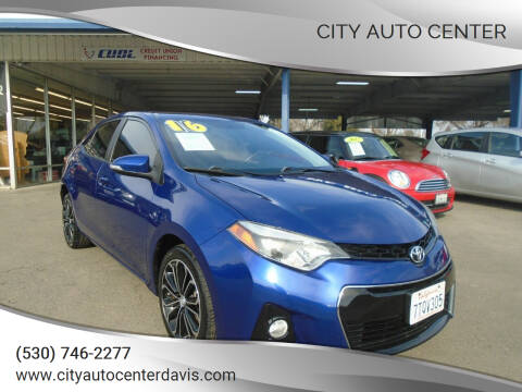 2016 Toyota Corolla for sale at City Auto Center in Davis CA