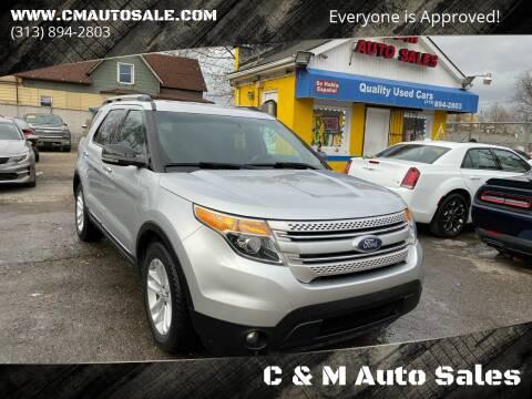 2011 Ford Explorer for sale at C & M Auto Sales in Detroit MI