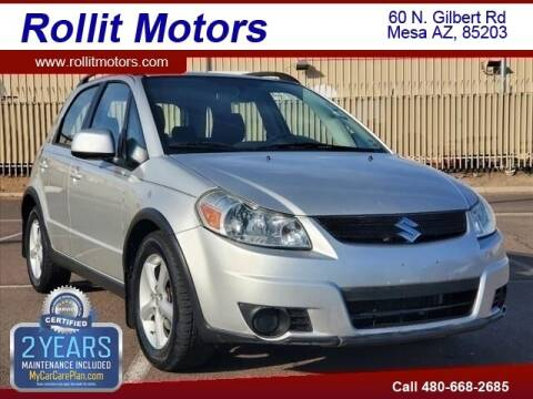 2007 Suzuki SX4 Crossover for sale at Rollit Motors in Mesa AZ