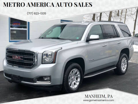 2015 GMC Yukon for sale at METRO AMERICA AUTO SALES of Manheim in Manheim PA