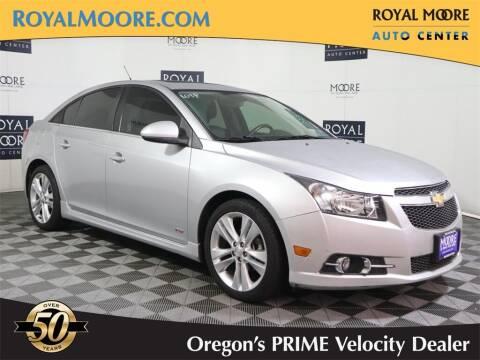 2014 Chevrolet Cruze for sale at Royal Moore Custom Finance in Hillsboro OR