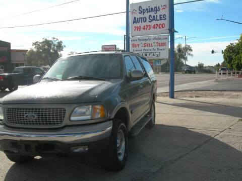 1999 Ford Expedition for sale at Springs Auto Sales in Colorado Springs CO