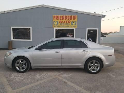 2009 Chevrolet Malibu for sale at Friendship Auto Sales in Broken Arrow OK