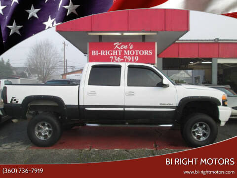 2005 GMC Sierra 1500 for sale at Bi Right Motors in Centralia WA