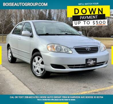 2008 Toyota Corolla for sale at Boise Auto Group in Boise ID