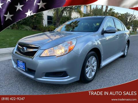 2012 Subaru Legacy for sale at Trade In Auto Sales in Van Nuys CA