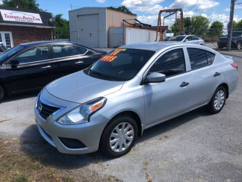 2018 Nissan Versa for sale at tazewellauto.com in Tazewell TN
