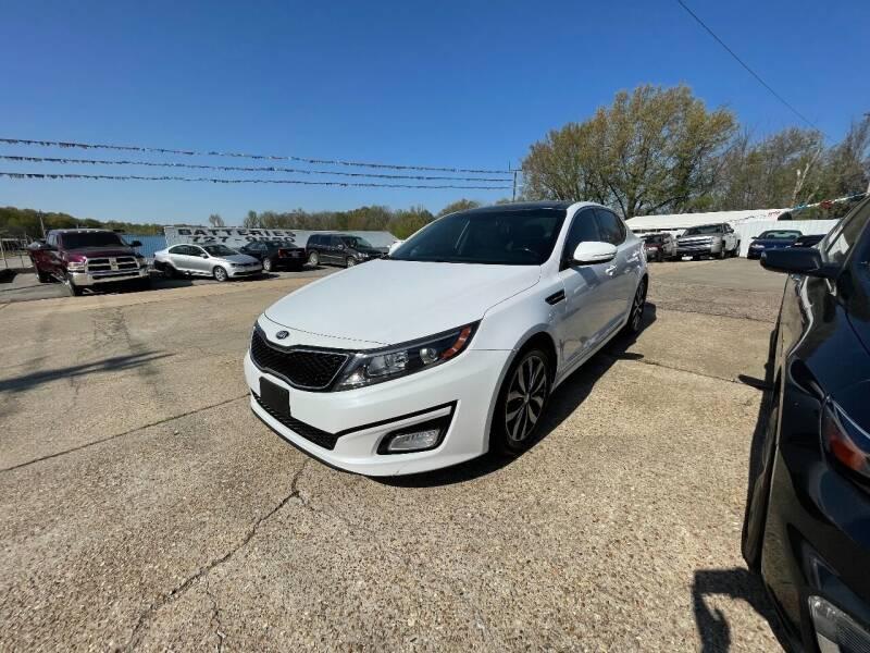 2015 Kia Optima for sale at Greg's Auto Sales in Poplar Bluff MO