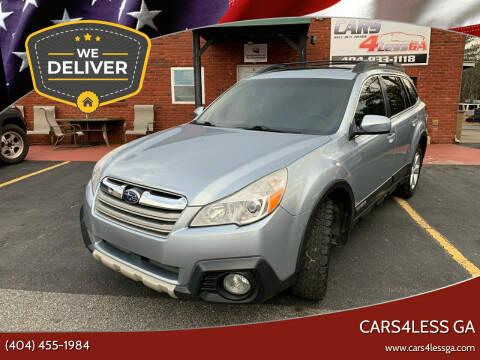2014 Subaru Outback for sale at Cars4Less GA in Alpharetta GA