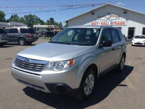 2010 Subaru Forester for sale at Steves Auto Sales in Cambridge MN