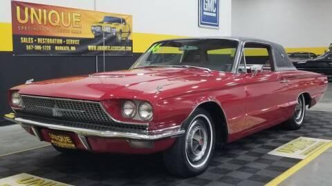 1966 Ford Thunderbird for sale at UNIQUE SPECIALTY & CLASSICS in Mankato MN