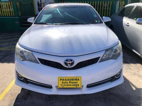 2014 Toyota Camry for sale at Pasadena Auto Planet in Houston TX