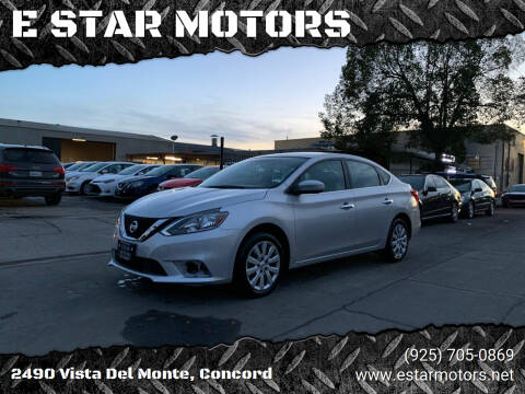 2019 Nissan Sentra for sale at E STAR MOTORS in Concord CA