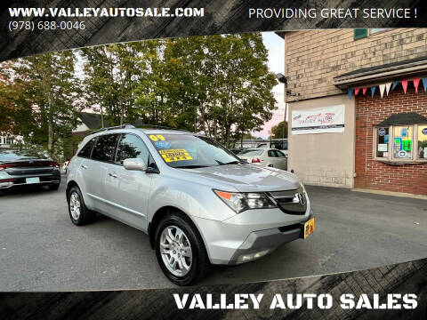 2009 Acura MDX for sale at VALLEY AUTO SALES in Methuen MA