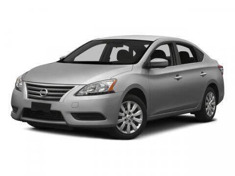 2015 Nissan Sentra for sale at DAVID McDAVID HONDA OF IRVING in Irving TX