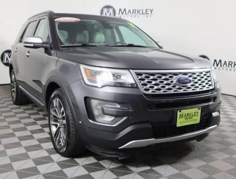 2017 Ford Explorer for sale at Markley Motors in Fort Collins CO