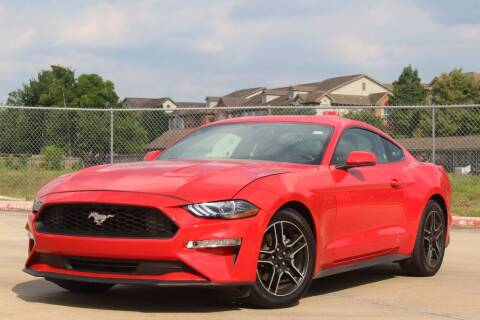 2020 Ford Mustang for sale at MBK AUTO GROUP , INC in Houston TX