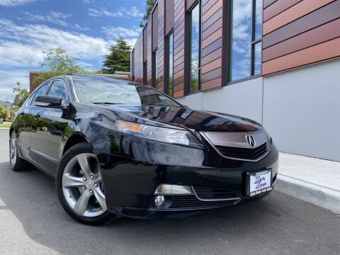 2012 Acura TL for sale at DAILY DEALS AUTO SALES in Seattle WA