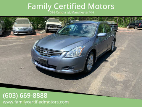2010 Nissan Altima Hybrid for sale at Family Certified Motors in Manchester NH