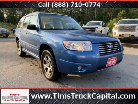 2007 Subaru Forester for sale at TTC AUTO OUTLET/TIM'S TRUCK CAPITAL & AUTO SALES INC ANNEX in Epsom NH