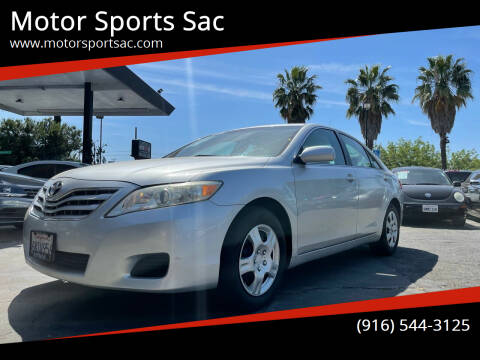 2011 Toyota Camry for sale at Motor Sports Sac in Sacramento CA