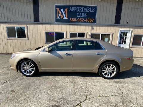2008 Chevrolet Malibu for sale at M & A Affordable Cars in Vancouver WA