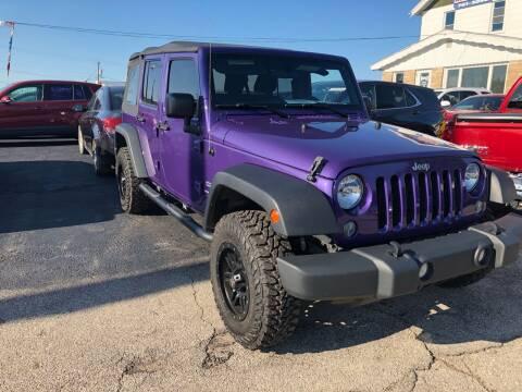 2018 Jeep Wrangler JK Unlimited for sale at Wyss Auto in Oak Creek WI